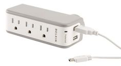 Belkin Mini Surge Protector with USB | College tech for back to school
