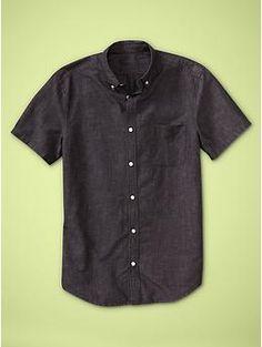 Cotton linen shirt (original fit) | Gap