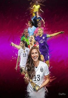 Alex Morgan (From University of California,Berkeley to Orlando Pride +National Team) Soccer Stars, Sports Stars, Sydney Leroux, Cristiano Ronaldo Lionel Messi, Neymar, Orlando Pride, Mens Golf Outfit, Manchester United Soccer, Sailing Outfit