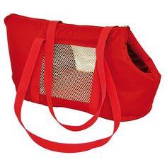 Bolsa de Transporte Em Lona Vermelha Tamanho 02 50X25X22 - São Pet - MeuAmigoPet.com.br #petshop #cachorro #cão #meuamigopet