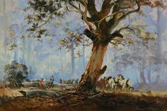 Art market auction sales from the to 2019 for 485 works by artist D'Arcy W. Doyle and values for over other Australian and New Zealand artists. Australian Painting, Australian Artists, Eucalyptus Tree, Canvas Paintings, Art Market, Landscape Art, Art World, Beautiful Landscapes, Diys