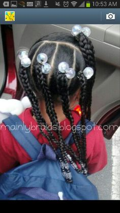 easy braided ponytail styles - Looking for Hair Extensions to refresh your hair look instantly? focus on offering premium quality remy clip in hair. Lil Girl Hairstyles, Kids Braided Hairstyles, Princess Hairstyles, My Hairstyle, Natural Hairstyles For Kids, Toddler Hairstyles, Long Hairstyles, Mixed Kids Hairstyles, Children Hairstyles