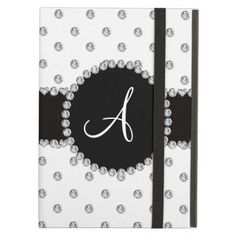 ==>Discount          Monogram white diamonds polka dots case for iPad air           Monogram white diamonds polka dots case for iPad air We have the best promotion for you and if you are interested in the related item or need more information reviews from the x customer who are own of them bef...Cleck Hot Deals >>> http://www.zazzle.com/monogram_white_diamonds_polka_dots_ipad_case-256905996800784302?rf=238627982471231924&zbar=1&tc=terrest