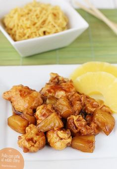 Learn what are Chinese Meat Cooking Pollo Chicken, China Food, Peruvian Recipes, Asian Recipes, Ethnic Recipes, Good Food, Yummy Food, Heart Healthy Recipes, International Recipes