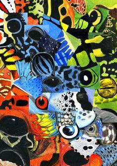 Illustration, Evolution and Frogs - copyright Ann Dadd Frogs, Portfolio Design, Evolution, Ann, Graphic Design, Illustration, Portfolio Design Layouts, Illustrations, Visual Communication