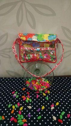 Bolsa balinhas, um mimo!!!! Candy crush