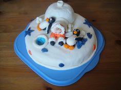Tessons et macarons: Gâteaux 3D  Banquise et pingouins  Ice cake
