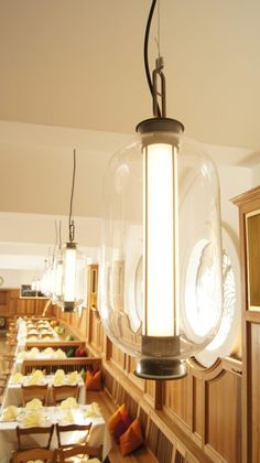 Bai T Ba Ba Pendant is a sophisticated take on the traditional Chinese lantern, and it invokes a sense of elegant industrialism sold to clients in South Africa Neri And Hu, Classic Lanterns, 3d Cad Models, Hanging Lamps, Chinese Lanterns, Hand Blown Glass, Pendant Lighting, Minimalism, Wall Lights
