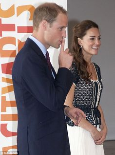 Prince William and the Duchess of Cambridge in Los Angeles July 2011