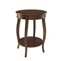 """End Table by Powell in Hazelnut (24"""" H x 18"""" W x 18"""" D) $114.95   Wayfair"""