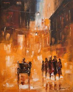 | Marek Langowski | Polish Impressionist painter