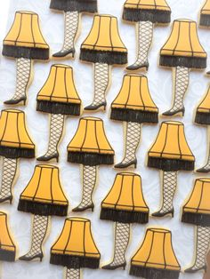 A Christmas Story: Leg Lamp Cookies - One Dozen Decorated Sugar Cookies by thesweetesttiers on Etsy https://www.etsy.com/listing/114840504/a-christmas-story-leg-lamp-cookies-one