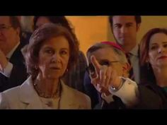 Doña Sofia inaugura las Edades del Hombre.