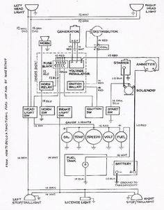 standard 10 car wiring diagram - Google Search
