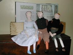 Www.mimikircher.com, dolls inspired by the Hidden House by S.Barrett