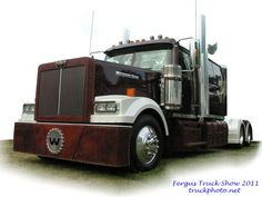 western star with leather