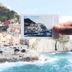 Manarola, Cinque Terre @tanagandhi on Instagram #instax90 Instax 90, Cinque Terre, Summer Vibes, Polaroid Film, Places, Creative, Instagram Posts, Travel, Woman