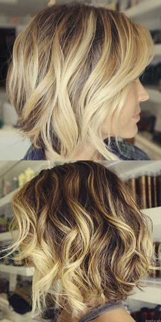Short Light Brown Hair With Blonde Highlights   The Best Short ...