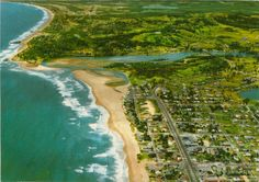 gold Coast 1960s - Palm Beach aerial view