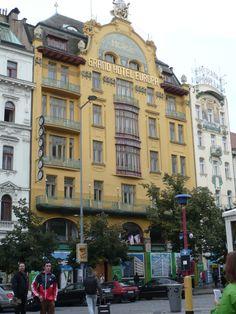 Beim Stadtrundgang in Prag entdeckt