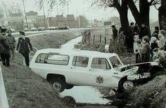 29 april 1977; achtervolging A16, twee agenten gewond