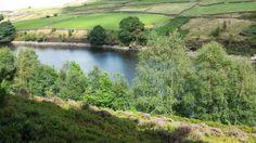 Holmestyes Reservoir, #Holmfirth.  Image copyright to www.holmfirth.info