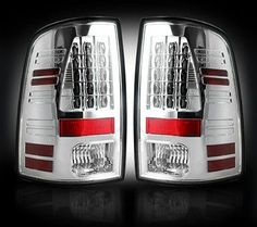 Recon Clear LED Tail Lights (10-14 Cummins)