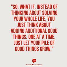 Wise words from @jennaskitchen