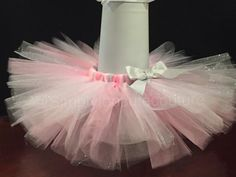 Pink and Silver Glitter Tutu by SimplyTooCuteCouture on Etsy