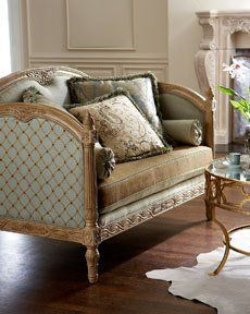 DIY Home Staging Tips: Decorating with Patterns 101 French Furniture, Classic Furniture, Luxury Furniture, Home Furniture, Furniture Design, Traditional Furniture, Lounges, Sofa Design, Interior Design