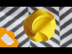 adorno navideño facil de hacer // Esfera de 3 piezas - YouTube