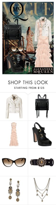 """""""Alexander McQueen"""" by mia-christine ❤ liked on Polyvore featuring McQ by Alexander McQueen, Alexander McQueen and McQueen"""