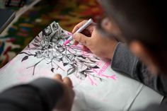 """Just like many of the artists featured on Hypebeast, Patrick Martinez was introduced to the vivid art world through hip-hop, exclusively through one of its founding elements, graffiti. His early inspirations came from cult-classics like """"Wild Style"""" and """"Style Wars,"""" and today his work is still largely influenced by the now commercialized culture."""