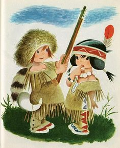 Gustaf Tenggren's Little Trapper