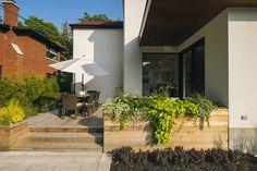 Elegant Architecture / Contemporain / Porte Patio / Terrasse / Bois // Contemporary  / Patio