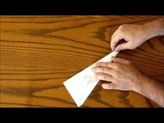 Paper Airplanes - How To Make Paper Airplanes - Easy Fold Instructions