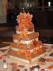 Fall Wedding Wedding Cake