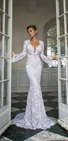 wedding dress Julie Vino 2015 by mrs. sparkle