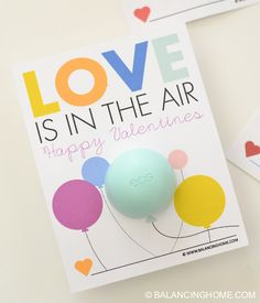 My little guy loves mint, so this EOS lip balm design is for him. I had so much fun creating a cute collection of EOS lip balm Valentines. The four EOS lip balm Valentines are half of the non-candy Valentine collection. This, Love is in the Air Valentine prints four to a page. All of...Read More »