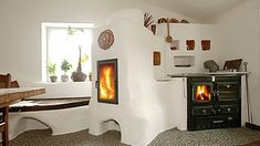Rocket Stoves, Earthship, Heating And Cooling, Cottage Style, Shabby, Gallery Wall, House Styles, Images, Alternative