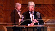 """Richard Stoltzman performs Reich's """"New York Counterpoint"""""""