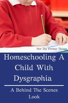 Homeschooling A Child With Dysgraphia: A Behind The Scenes Look at what it's really like and how beneficial it can be for your child. Interactive Learning, Learning Activities, Therapy Activities, Benefits Of Homeschooling, Homeschooling Resources, Kindergarten Curriculum, Autism Resources, Dysgraphia, Dyslexia