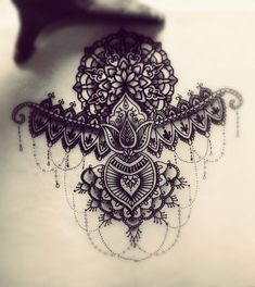 Bracelet for arm or chest/under chest. Create by myself @borgiatattoo. No copy please !