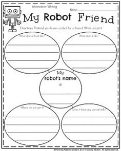 Informative Writing Prompt - My Robot Friend