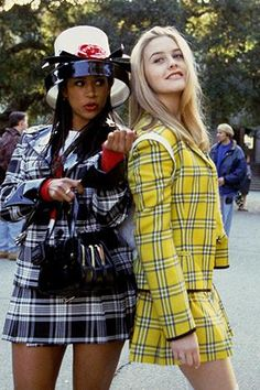 Need a last minute group halloween costume? The Clueless girls! Clueless Fashion, Clueless Outfits, 2000s Fashion, Fashion Outfits, Clueless 1995, Clueless Halloween Costume, Best Group Halloween Costumes, Halloween Outfits, Halloween Halloween