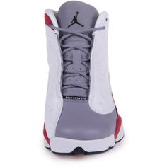 AIR JORDAN 13 RETRO (GS) BIG KIDS 414574-002 ($160) ❤ liked on Polyvore featuring shoes and sneakers