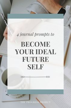 Future self journaling can be so powerful in helping you tap into the ideal future version of yourself and figure out how to become her now. We've got 4 journal prompts to help you get started now!