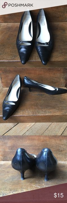 Nordstrom small heel pumps Nordstrom small heel pumps gently used in good pre-owned condition. Nordstrom Shoes Heels