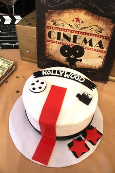 Cake at a Hollywood Party #hollywood #cake