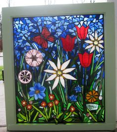 Free Mosaic Patterns | Pin Free Mosaic Patterns For Stained Glass Tattoo on Pinterest